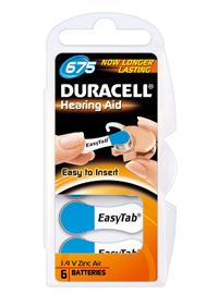 Duracell Hörgerätebatterien
