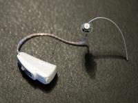 modernes Hinter-dem-Ohr Hörgerät
